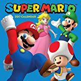 img - for Super Mario Brothers 2017 Wall Calendar book / textbook / text book