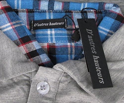 (ドートル オトゥール) D'autres hauteurs 3色 4サイズ レイヤード フェイク インナー ポロシャツ D'autres hauteurs