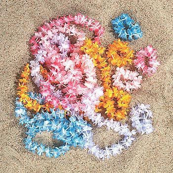 Mini Leis Assorted Colors (1 ct)