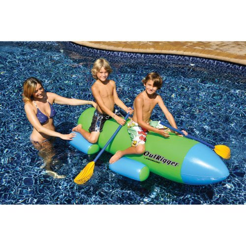Swimline OutRigger Inflatable Pool Row About by Swimline