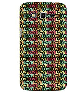 PrintDhaba Love Pattern D-5287 Back Case Cover for SAMSUNG GALAXY GRAND 2 (Multi-Coloured)