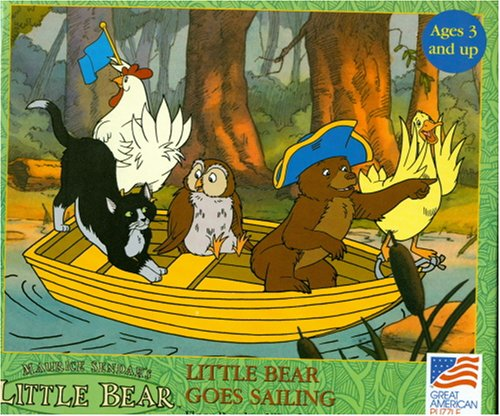 Cheap Great American Little Bear's Goes Sailing 18″x24″ 24 Piece Puzzles (B000WU7MP4)