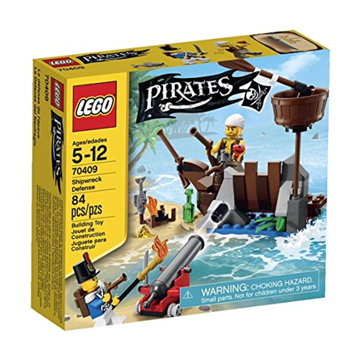 [해외] LEGO PIRATES SHIPWRECK DEFENSE
