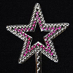 Magideal Star Magical Scepter Fairy Angel Wand Kids Girl Party Fancy Dress Costume