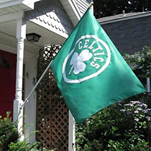 NBA Boston Celtics 3x5-Foot NE Banner Flag by New England Banner