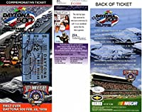 Dale Earnhardt Sr. Signed - Autographed Daytona 500 40th Annual/ Nascar 50th Anniversary 4 x 8.5 Inch Commemorative Ticket - Deceased 2001 - JSA Certificate of Authenticity