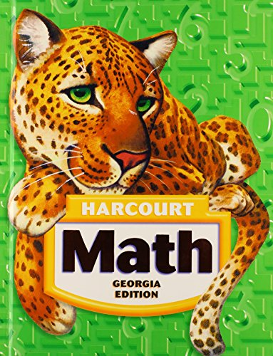 Harcourt School Publishers Math Georgia: Student Edition Grade 5 2008
