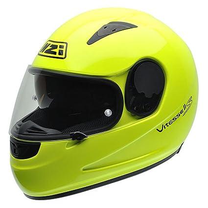 NZI 010230G289 Vitesse S Casque de Moto, Taille M Jaune