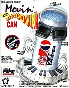 Diet Pepsi Movin' and Groovin' Can Moves to Sounds