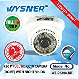 Wysner WS-DA10A-NR 1.0MP Dome CCTV Camera