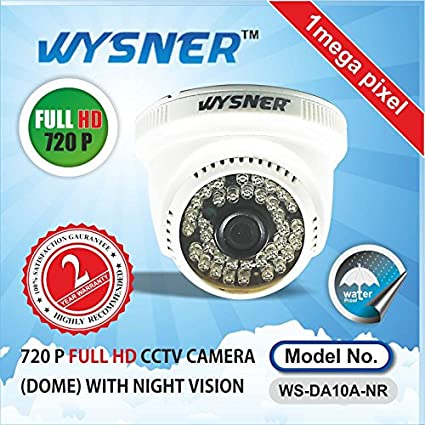 Wysner-WS-DA10A-NR-1.0MP-Dome-CCTV-Camera