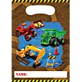 Trucks & Diggers Under Construction Party Loot Bags x 8