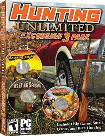 Hunting Unlimited Excursion 3-Pack
