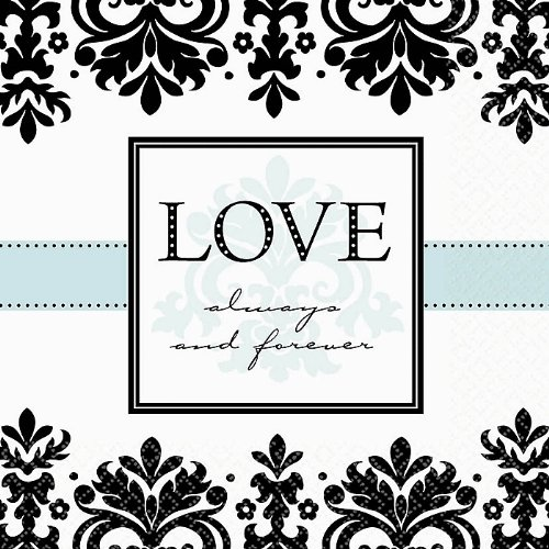 Always & Forever Luncheon Napkins Package of 16
