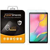 Supershieldz [2-Pack] for Samsung Galaxy Tab A 10.1 (2019) [SM-T510 Model] Screen Protector, [Tempered Glass] Anti-Scratch, Bubble Free, Lifetime Replacement