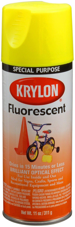 Krylon 3105 Cerise Fluorescent Paint - 11 oz. Aerosol - Spray ...