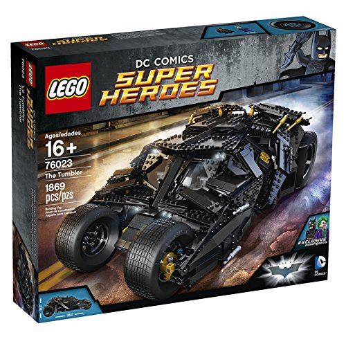 LEGO-Superheroes-76023-The-Tumbler-Discontinued-by-manufacturer