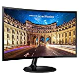Samsung Curved LC24F390FHWXXL 23.6-inch LED Monitor (Black)
