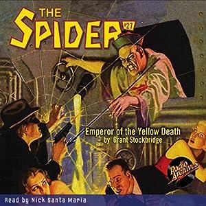 Spider #27, December 1935: The Spider Audiobook