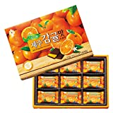 [韓国お土産] 済州島 みかん風味チョコレート 1箱 (海外 みやげ 韓国 土産)