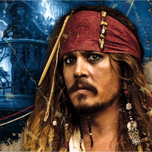 Pirates of the Caribbean 4 Beverage Napkins 16c