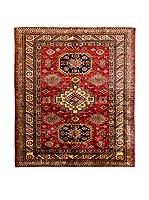 CarpeTrade Alfombra Kazak Special (Rojo/Multicolor)