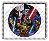 1/4 Sheet Stars Wars Rebels Edible Icing Image Cake Decoration Topper