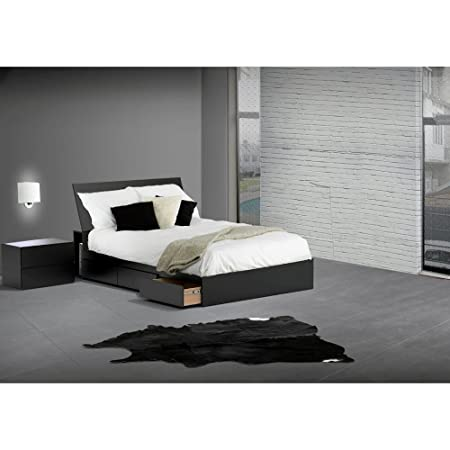 Modern Full Size Bedroom Set With Headboard and Nightstand FMP25138