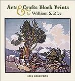 Arts & Crafts Block Prints 2015 Calendar