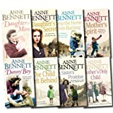 Anne Bennett Anne Bennett Collection 8 Books Set Pack RRP: £ 55.92 (A Daughter's Secret, Daughter of Mine, Mother's Only Child, A Sister's Promise, Keep the Home Fires Burning, A Mother's Spirit, Danny Boy, The Child left Behind) (Anne Bennett Collectio