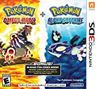 Pokemon Omega Ruby and Pokemon Alpha Sapphire Dual Pack - Nintendo 3DS from Nintendo