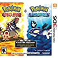 Pokemon Omega Ruby and Pokemon Alpha Sapphire Dual Pack - Nintendo 3DS