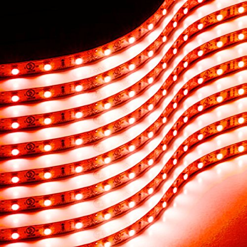 Zone Tech 30cm Flexible Waterproof Red Light Strips - 8-Pack LED Car Flexible Waterproof Red Light Strips (Automotive Led Accent Lights compare prices)