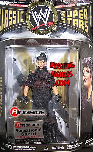 Buy Low Price WRESTLING SENSATIONAL SHERRI CLASSIC 27 RINGSIDE EXCLUSIVE WWE Wrestling Action Figure (B002UPZE9K)