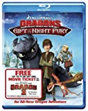 Image de Dragons: Gift the Night Fury Blu Ray [Blu-ray]