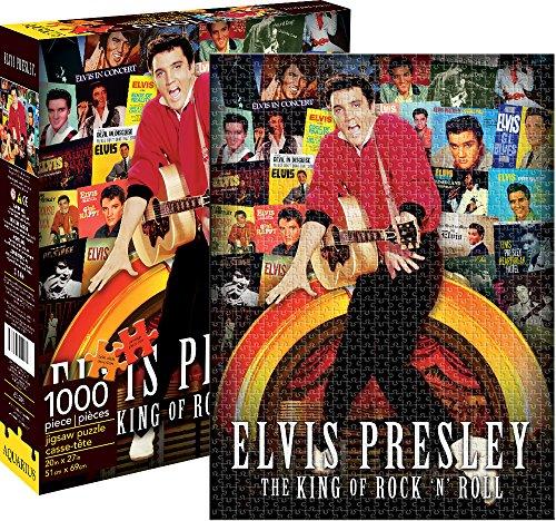 Elvis Presley LP Covers 1000 pezzo di puzzle (nm)