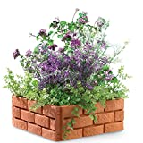 Snapping Brick Garden Borders - Set of 4