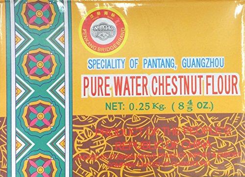 0.25 Kg Pure Water Chestnut Flour by Fenkang Bridge Brand, Pack of 1 (Water Chestnut Flour compare prices)