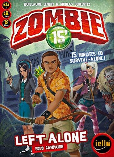 Zombie 15': Left Alone Solo Campaign Board Game