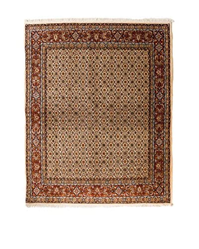 QURAMA Teppich Persian Mud braun/mehrfarbig 193 x 148 cm