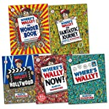 Where's Wally? Mini Pack, 5 books, RRP £14.95 (Fantastic Journey; Where's Wally; Where's Wally Now; Where's Wally Wonderbook; Where's Wally in Hollywood).