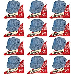 Childs Train Conductor Dress Up Kit - Hat, Whistle, and Bandana (12 per package)