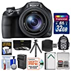 Sony Cyber-Shot DSC-HX400V Wi-Fi Digital Camera with 32GB Card + Backpack + Battery/Charger + Flex Tripod + 3 Filters Kit