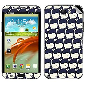 Theskinmantra Whale Love Samsung Galaxy Note 2 mobile skin