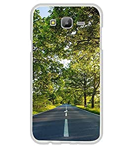 Road 2D Hard Polycarbonate Designer Back Case Cover for Samsung Galaxy J7 J700F (2015 OLD MODEL) :: Samsung Galaxy J7 Duos :: Samsung Galaxy J7 J700M J700H