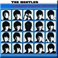 Beatles Hard Days Night LP Cover steel fridge magnet (ro)