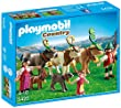 Playmobil - 5425 - Figurine - Famille Et Vaches Des Montagnes