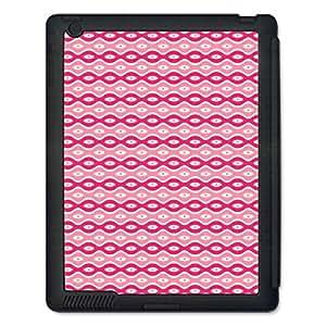 Skin4Gadgets ABSTRACT PATTERN 205 Tablet Designer BLACK SMART CASE for APPLE IPAD 2