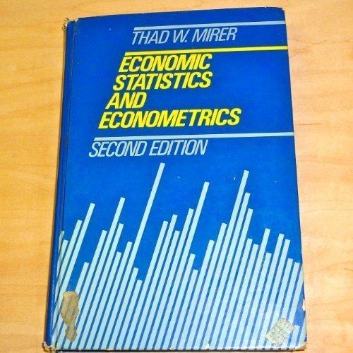 Economic Statistics and Econometrics PDF