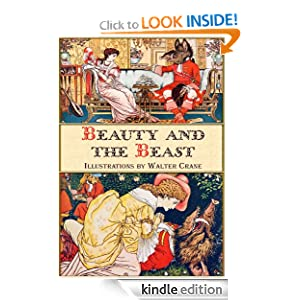 Beauty and the Beast (Illustrated) (Classic fairy tales)